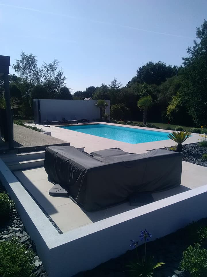 Construction <br>de piscine